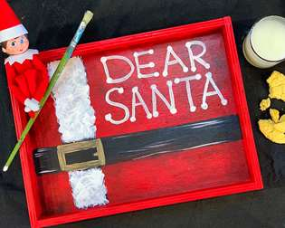Dear Santa Cookie Tray