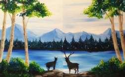 Deer Crossing (Date Night)
