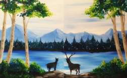 Deer Crossing (Date Night)