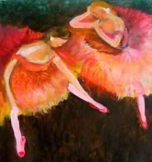In Studio Event - Degas Ballerinas