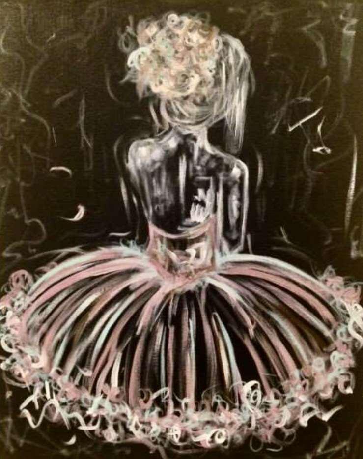 Degas-Inspired Ballerina