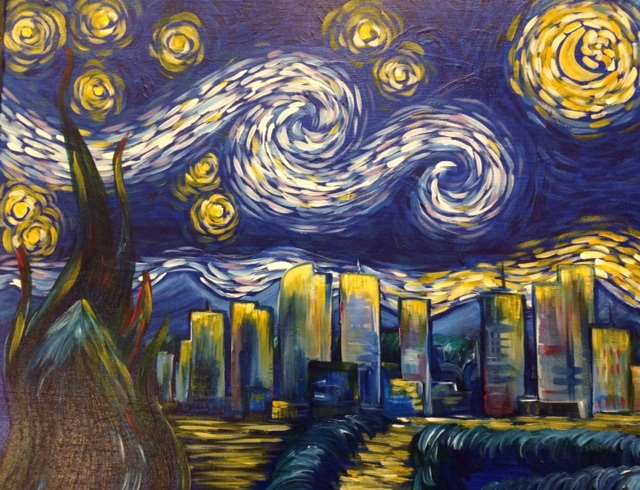 Denver Starry Night