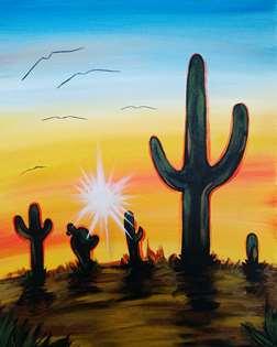 Desert Afternoon