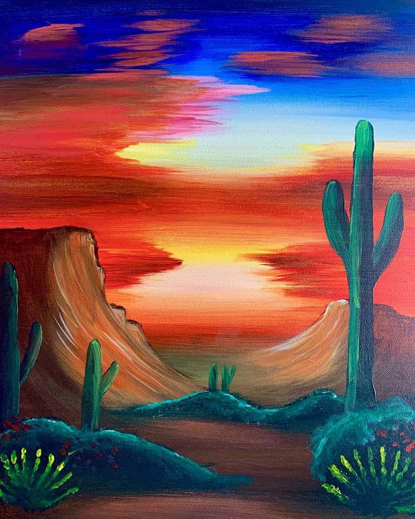Desert Sundown