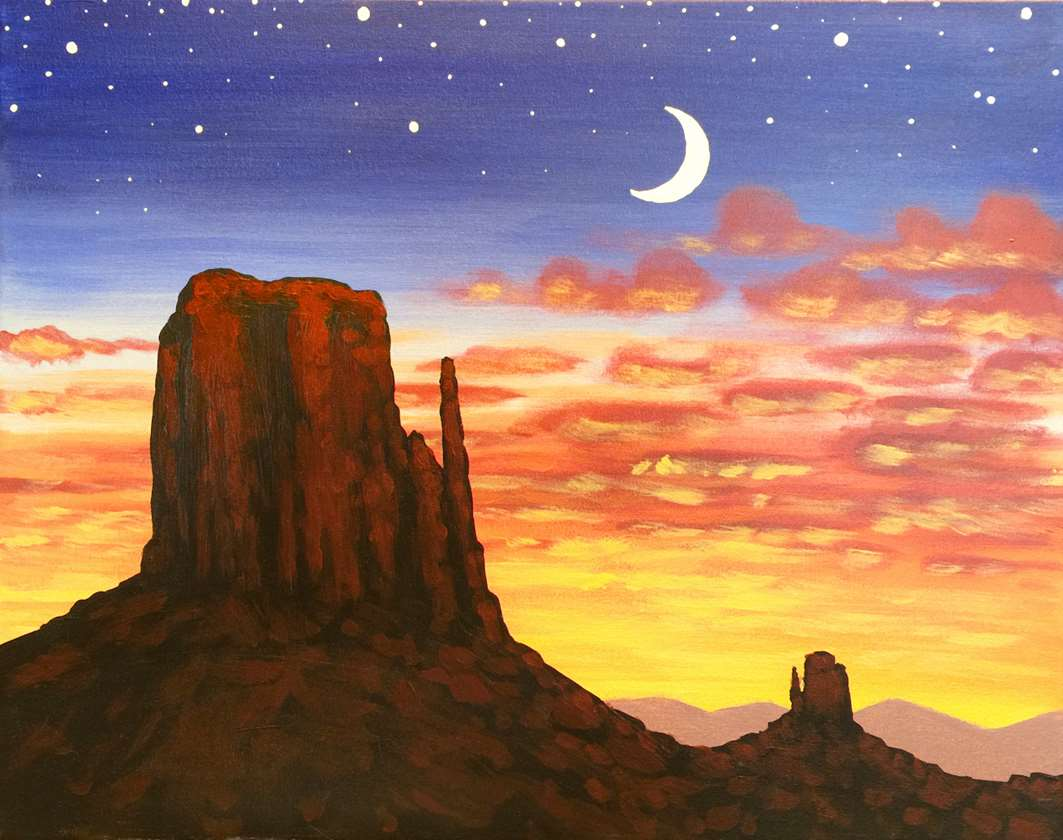 Desert Twilight