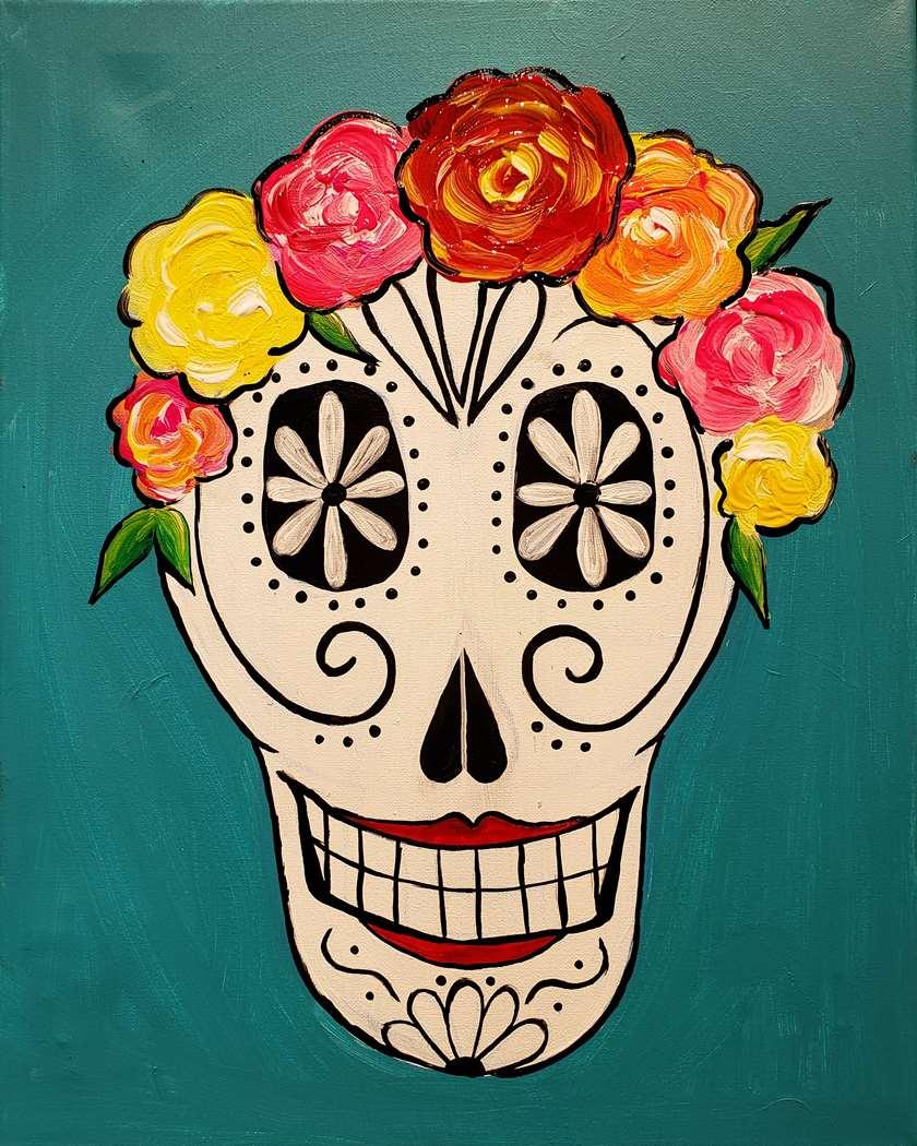 Design Your Own Sugar Skull
