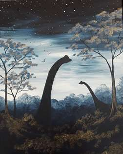 Dinosaurs in the Mist