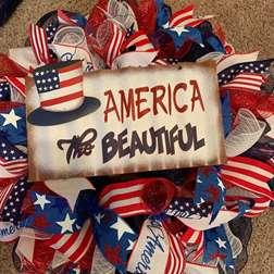 DIY - America the Beautiful Wreath Making Class