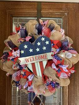 DIY - Americana Wreath Workshop