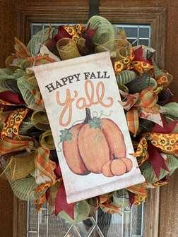 DIY - Happy Fall Y'all