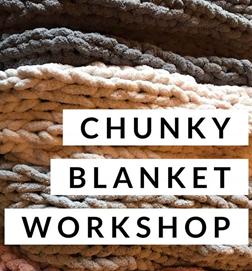 DIY Chunky Throw  Blanket