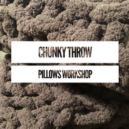 DIY Chunky Throw Pillows
