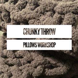 DIY Chunky Throw Pillows