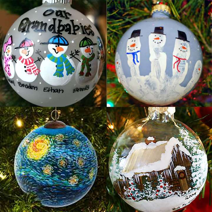 DIY Personalized Holiday Ornament - Great Family Fun!