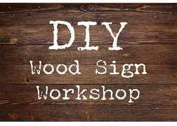 DIY Wood Sign Workshop