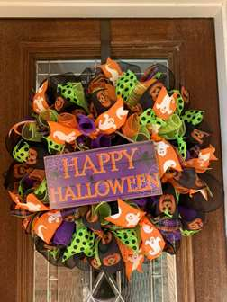 DIY Wreath Workshop - Halloween