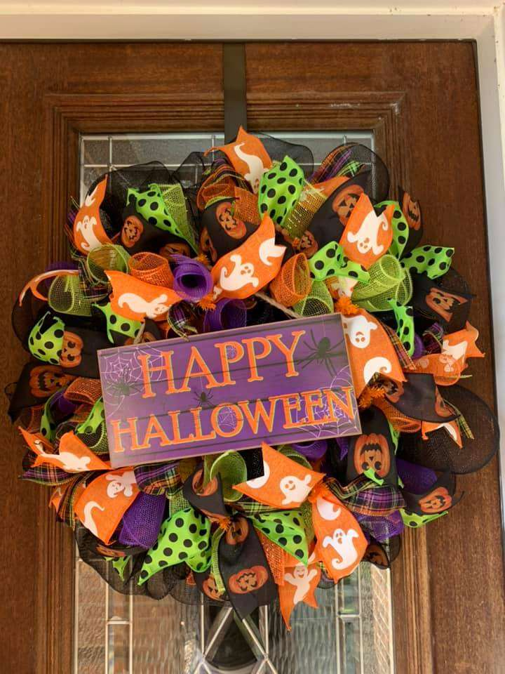 DIY - Halloween Wreath Making Class