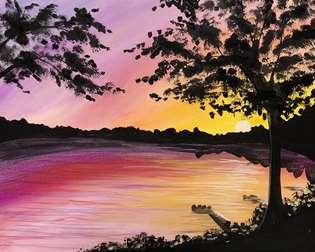 Dockside Sunset