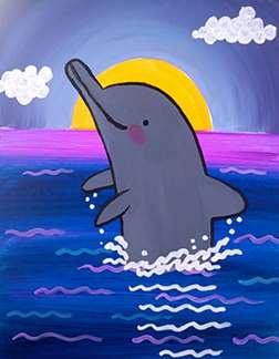 Dolphin Splash
