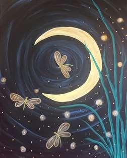 Dragonfly Moon Fantasy