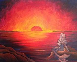 Dreaming at Sunset