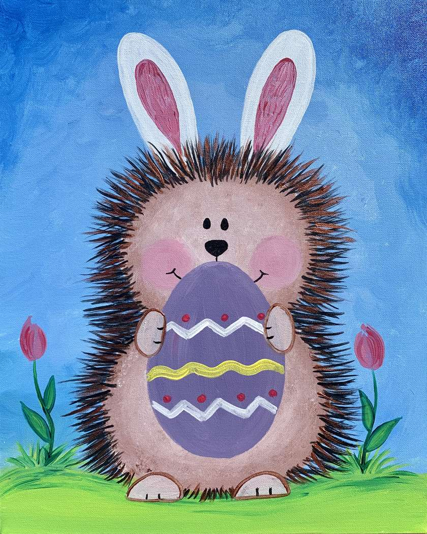 Easter Hedgehog