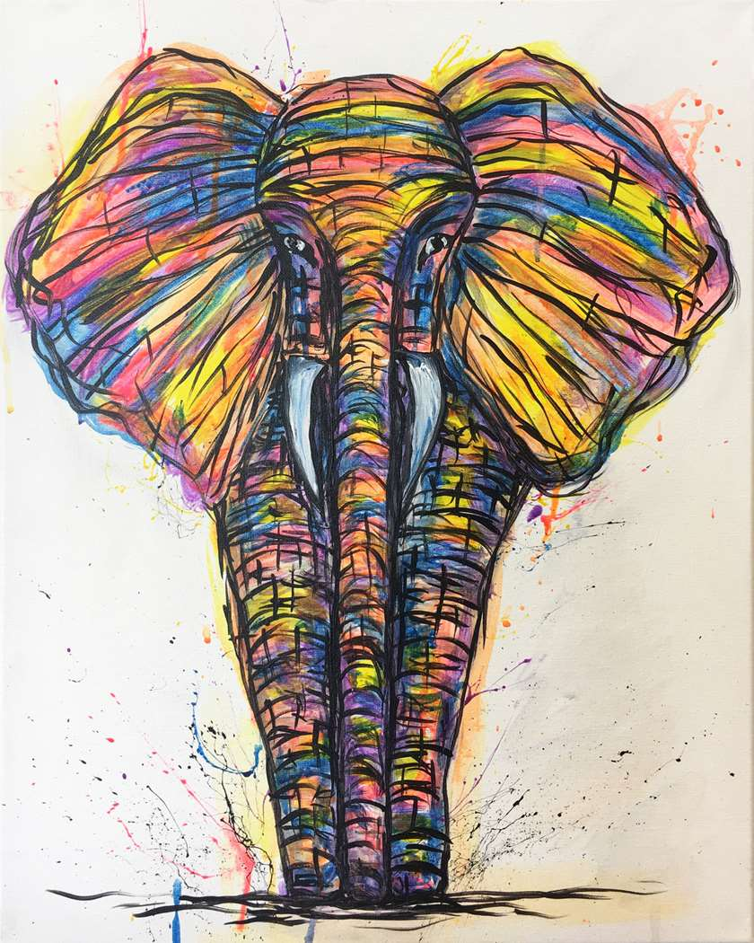 Eclectic Elephant - In Studio Event - Limited Seating Available