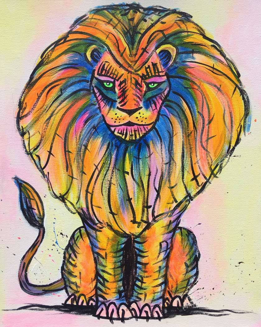 Eclectic Lion