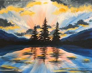 Paint And Sip In Coeur D Alene Coeur D Alene Pinot S Palette
