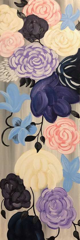 IN STUDIO CLASS: EFFLORESCENT FLOWERS - LIMITED SEATING