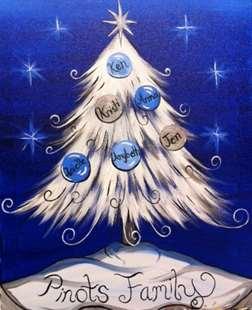 Elegant Family Christmas Tree