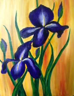 Elegant Iris