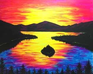 Emerald Bay Sunset