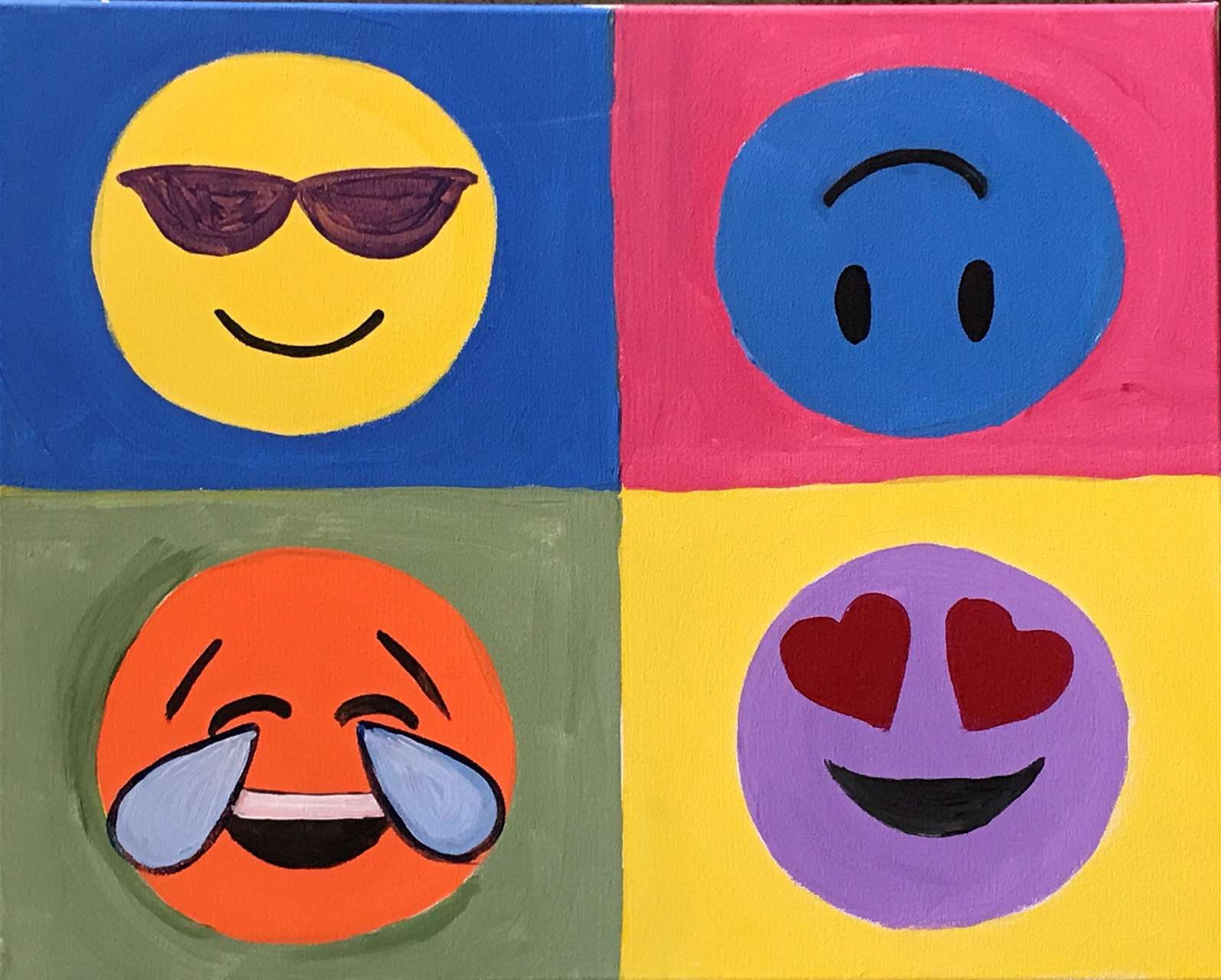 Emoji-A-La-Warhol - Sat, Feb 02 10AM at St  Louis Park