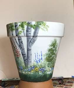 English garden Pot