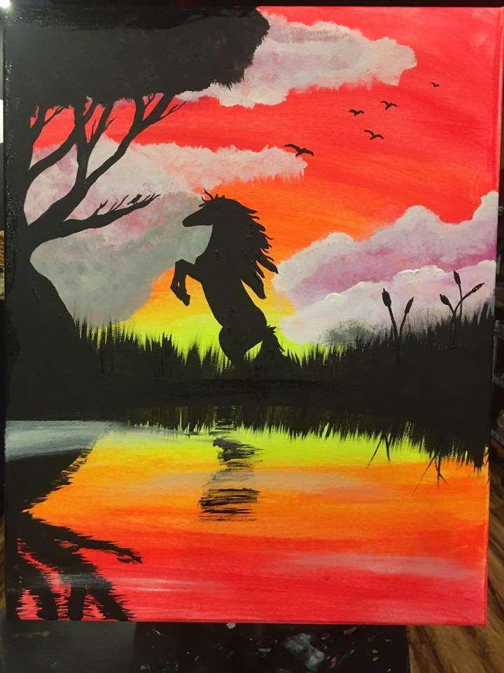 Equestrian Sunset