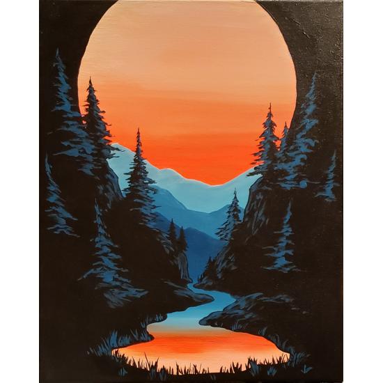 Eventide - Black Light Painting!