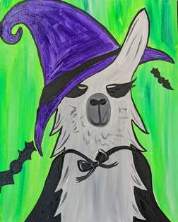 Everyone Needs a Witchy Llama