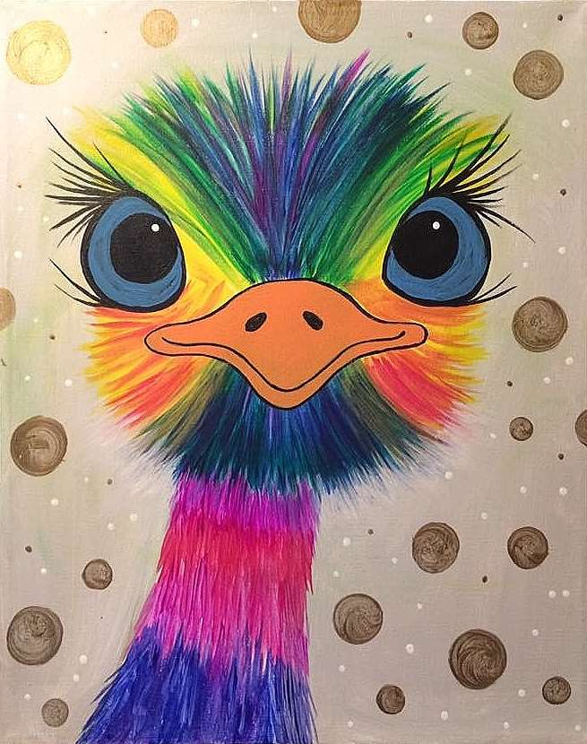 Eye See You Emu - All Ages Welcome! - In Studio Event - Limited Seating Available