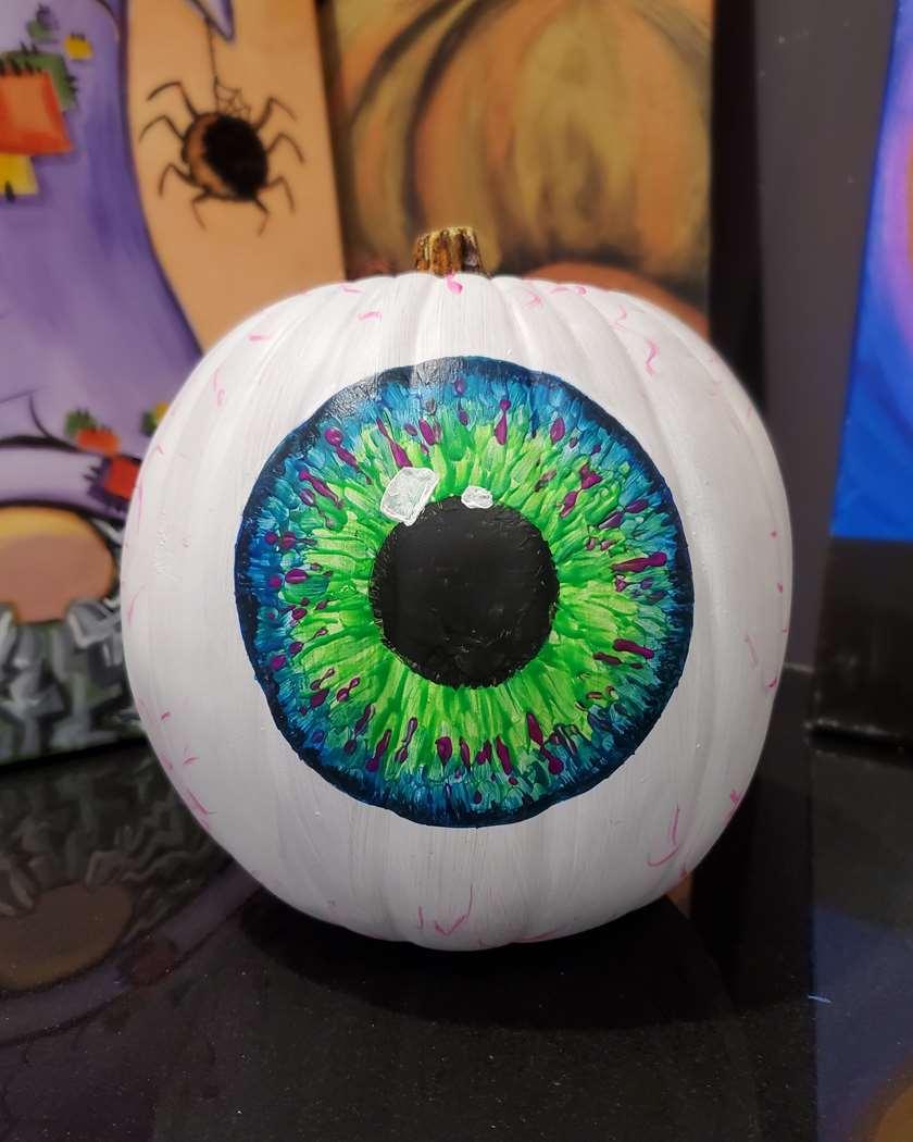 "10"" Craft Pumpkin In Studio Class! ❤🎨🥂 Discounts in Event Description"