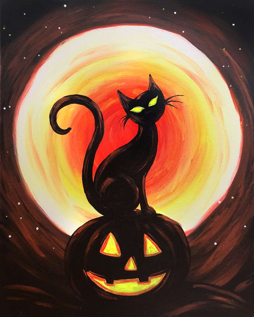 All Ages - Eyes Aglow on Halloween - In Studio - Limited Seating