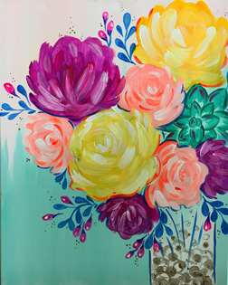 Paint and sip in montrose montrose pinot 39 s palette for Sip and paint houston