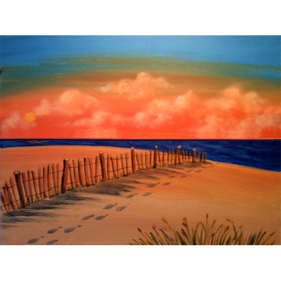 Fall Walk on the Beach - In Studio Event - Limited Seating Available