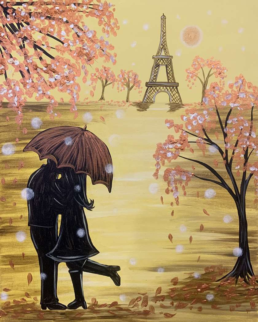 Falling for Paris