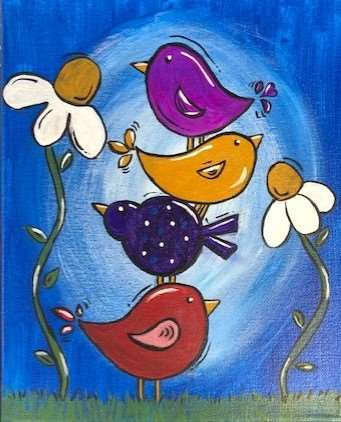 FAMILY DAY!!! BRING THE KIDS! $32 Per Canvas!! Ages 6 and up