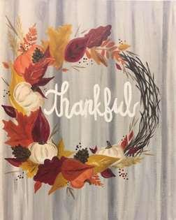 Festive and Thankful