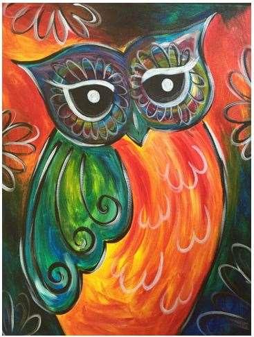 Festive Owl
