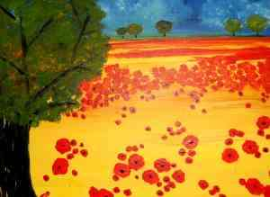 Field of Poppies