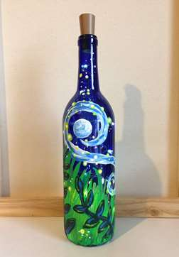 Firefly Wine Bottle