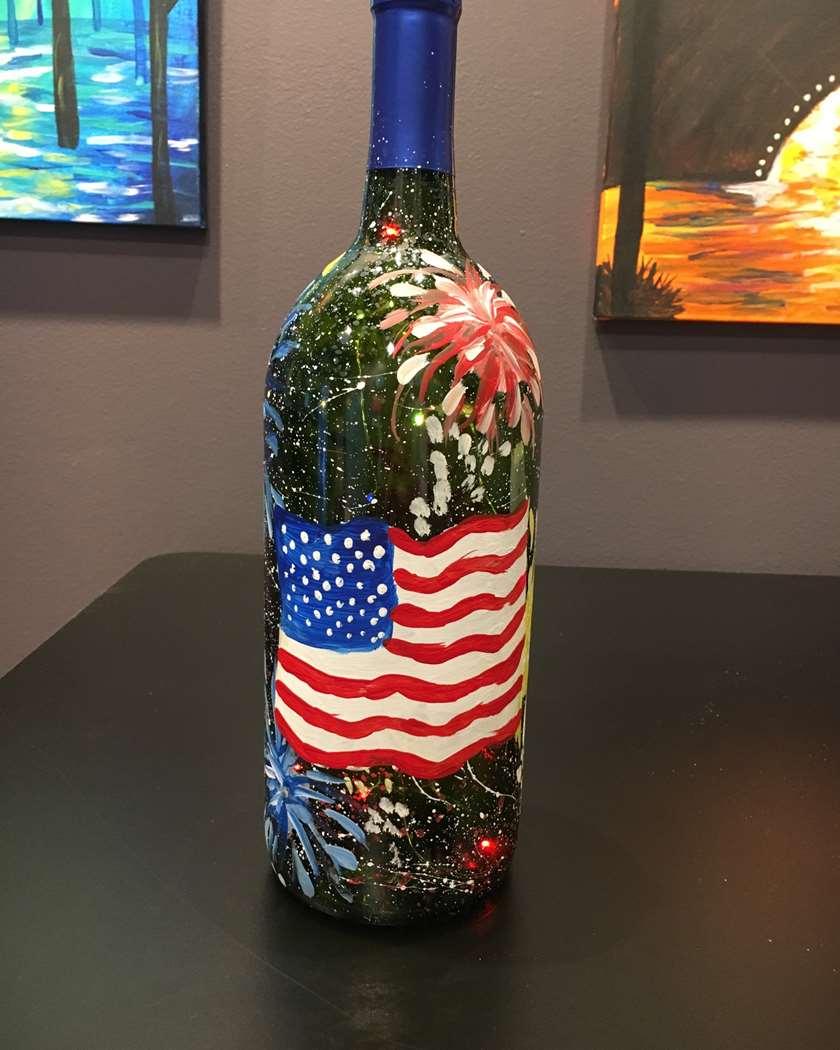 Fireworks Bottle